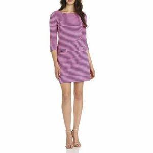 Lilly Pulitzer striped Charlene pink purple dress